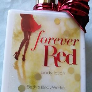 Bath and Body Forever Red